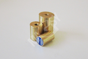 News in our e-shop: Brass and rubber-coated magnetic lenses