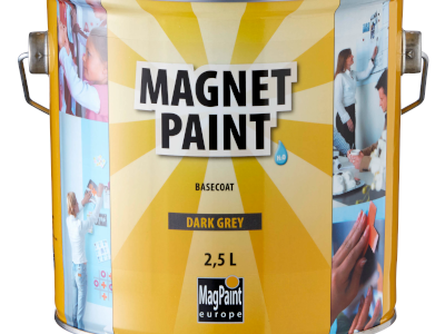 Magnetic color for walls