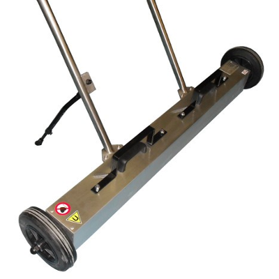 Magnetic sweeper with the width of 1000 mm