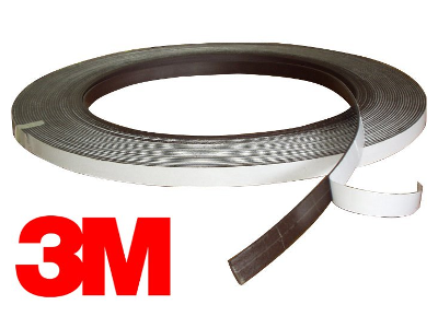Self-adhesive magnetic band