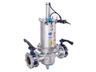 Magnetic separators / filters for liquid mixtures - manual cleaning