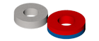 SmCo magnets - circular rings - magnetized axially in a parallel to the axis