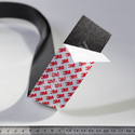 Magnetic self-sticking tape