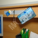Magnetic ledges for offices