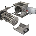 Cleaning of the telescopic rotational magnetic separator